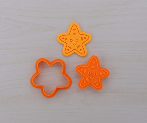 Starfish Cookie Cutter and Stamp Set