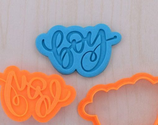 Boy Cookie Cutter and Stamp Set
